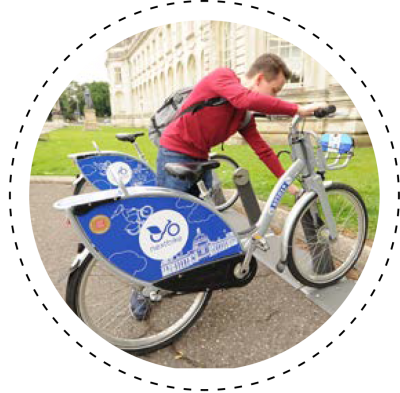 Next bike user